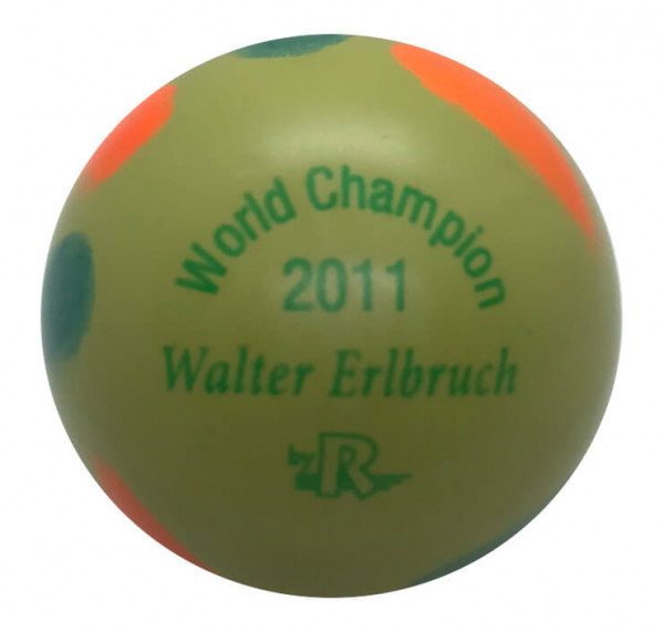 World Champion 2011 Walter Erlbruch mint