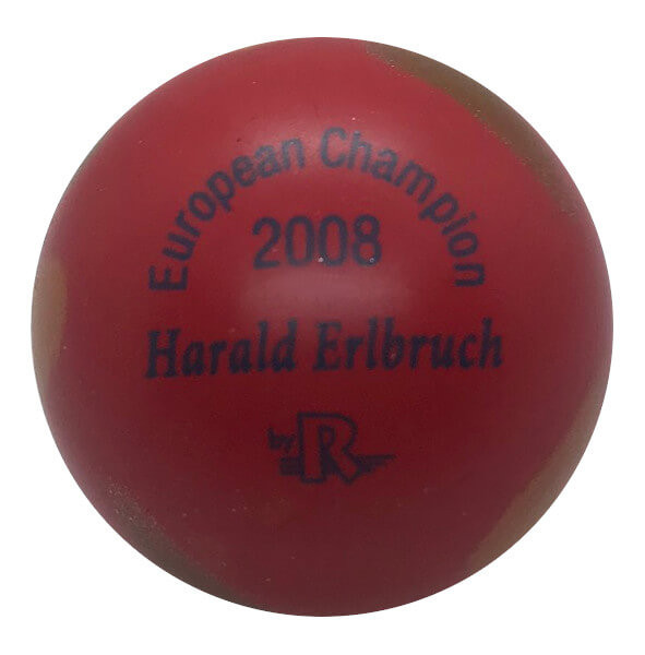 European Champion 2008 Harald Erlbruch rot