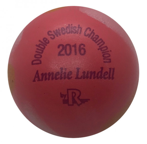 Annelie Lundell - Double Swedish Champion 2016