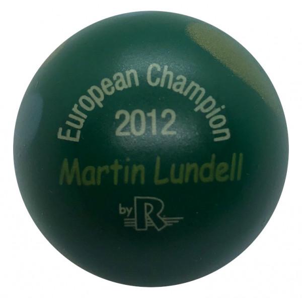 European Champion 2012 Martin Lundell
