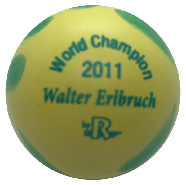 World Champion 2011 Walter Erlbruch gelb